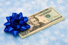 礼品货币 库存图片