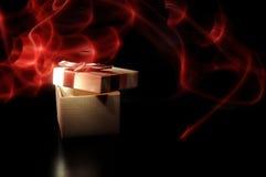 礼品魔术 库存照片