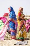 礼服印第安传统妇女 库存图片