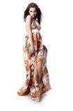 礼服夏天佩带的妇女 库存图片