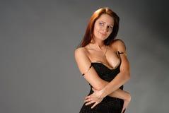 礼服性感的妇女年轻人 库存图片