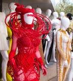 礼服时尚时装模特 图库摄影
