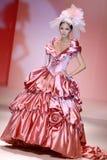 礼服显示婚礼 免版税库存照片