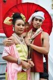 礼服泰国传统 库存照片