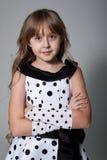 礼服的女孩 免版税图库摄影