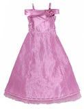 礼服鞋带粉红色 免版税库存照片