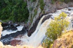 洗礼河的高秋天 免版税库存图片
