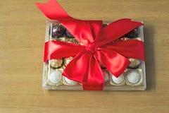 礼物为假日新年,圣诞节,复活节,生日, a 库存图片