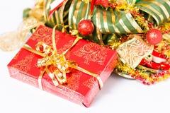 礼物圣诞节 免版税库存图片