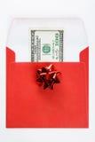 礼物的金钱 免版税库存图片