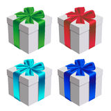 礼物盒向量 库存图片
