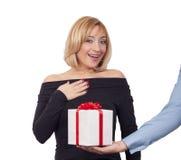 礼物盒概念 库存照片