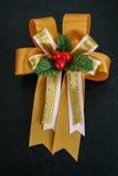 礼物盒的丝带 图库摄影