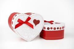 礼物盒,爱 免版税库存照片