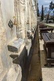 礼节洗净液的地方在Suleymaniye清真寺在伊斯坦布尔, 图库摄影