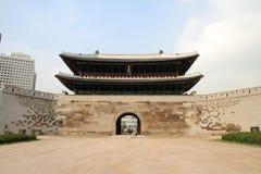崇礼门在汉城,韩国 免版税库存照片