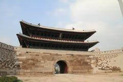 崇礼门在汉城,韩国 库存照片