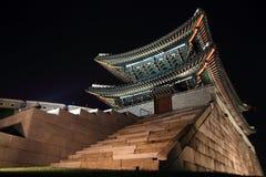 崇礼门在汉城,韩国 库存图片