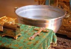 洗礼仪式 库存照片