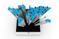 社交或企业网络 免版税图库摄影