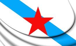 社会主义民族主义的加利西亚旗子 皇族释放例证