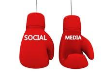 社会媒体喜欢比赛 库存图片