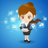 社会媒体概念 免版税图库摄影