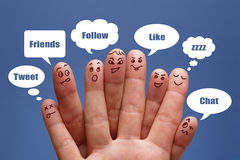 社会媒体 免版税库存图片