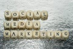 社会营销媒体 图库摄影