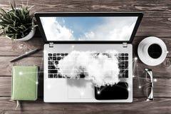 社会通信和全球性网络概念 库存图片