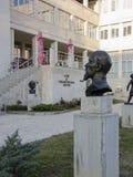 社会主义艺术索非亚市保加利亚博物馆  免版税图库摄影