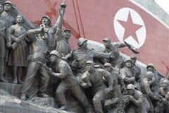 社会主义革命纪念碑 免版税库存图片