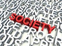 社会 免版税库存照片