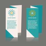 社会infographic的小册子设计,图 库存照片