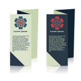 社会infographic的小册子设计,图 免版税库存图片