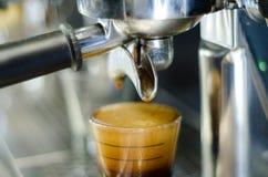 社团领袖咖啡机器 图库摄影
