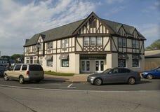 社论街市Montauk纽约Hamptons 免版税图库摄影
