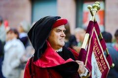 社论, 2015年10月4日:巴尔,法国:祝宴des Vendanges 免版税库存照片