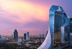 社论:中央使馆曼谷市,泰国, 2017年5月4日 免版税图库摄影