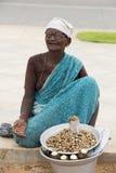 社论说明图象 可怜的工作者妇女在印度 库存照片
