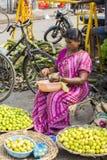 社论说明图象 可怜的工作者妇女在印度 免版税库存图片