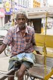 社论说明图象 周期运输在印度 免版税库存图片