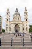 社论St.斯蒂芬的大教堂布达佩斯匈牙利 免版税库存照片