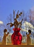 祈祷在春天2308的小雕象 免版税图库摄影