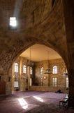 祈祷在老清真寺 免版税库存图片