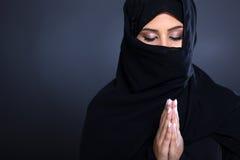 中东祈祷 免版税库存照片