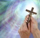祈祷对我们的阁下 免版税图库摄影
