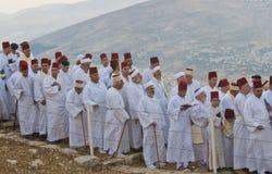 祈祷撒马利亚人shavuot 免版税图库摄影