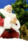 祈祷的圣诞老人 免版税库存图片