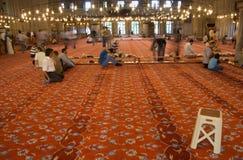 祈祷的地毯 库存照片